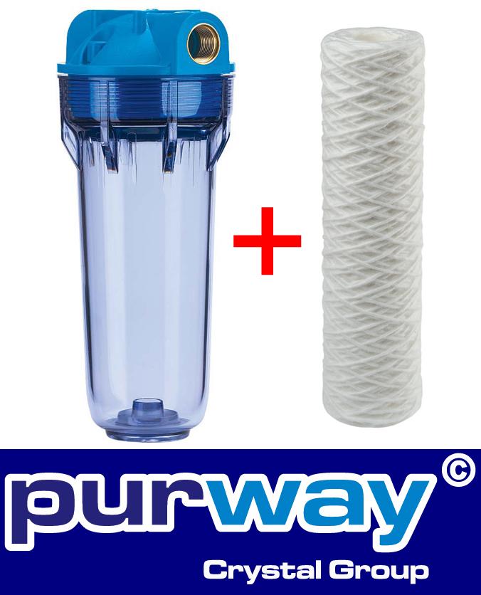 1 HO-PFA 5000L/h Vorfilter Wasserfilter Pumpenfilter Pumpen Hauswasserwerk