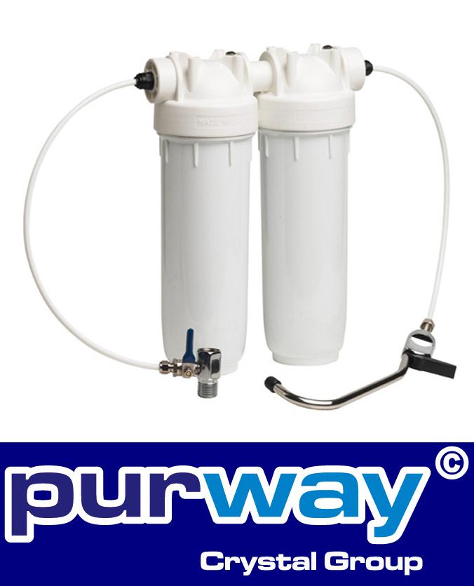 purway Wasseraufbereiter für Trinkwasser Küche Boot Caravan Leergehäuse