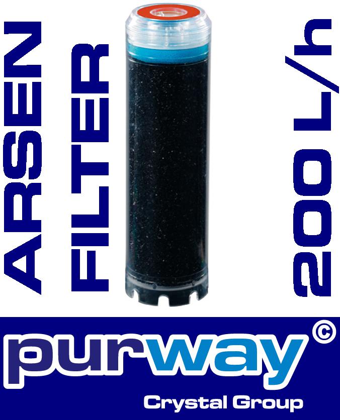 ARSEN Filter Wasserfilter Trinkwasserfilter Entfernung von ARSEN (As V, As III)