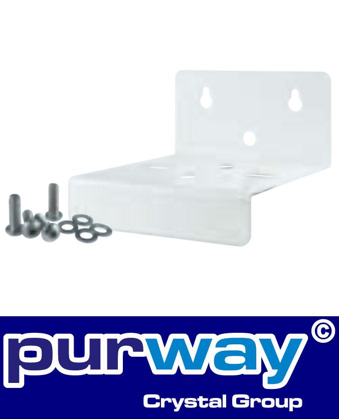 B1WM - Wandhalter (weiß) für DP BIG EINZEL-Filtergehäuse purway