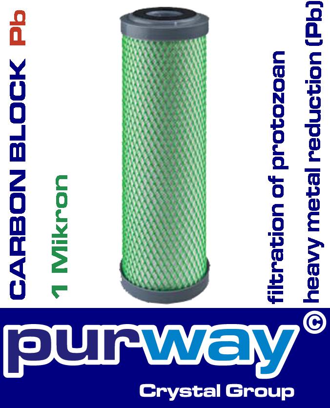 CB-EC Pb 10 SX 1 mcr Trinkwasser Filter Schwermetalle Nickel Blei Chlor