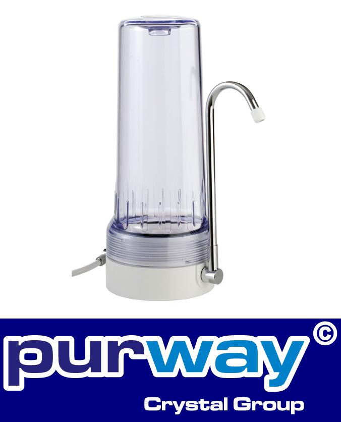 Depural Top ECO SX TS Trinkwasserfilter Auftischfilter Tischwasserfiltergehäuse