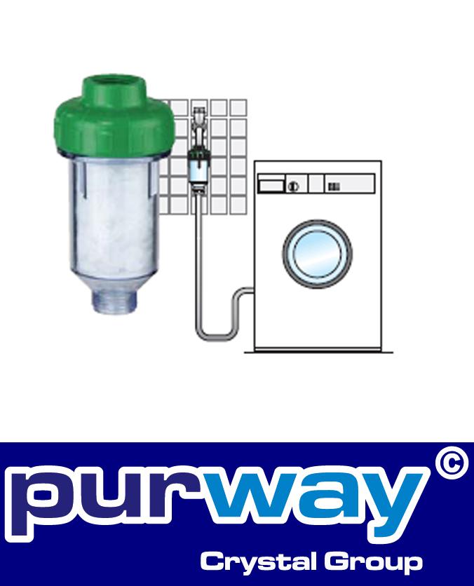 """DOSAL 3/4"""" Zoll Waschmaschinen Filter Anti Kalk Wasserfilter"""