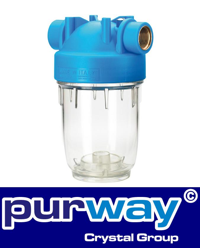 """DP 5 MONO 1/2"""" OT TS 5"""" Zoll Filtergehäuse für Wasserfilter Pumpenfilter Gehäuse"""