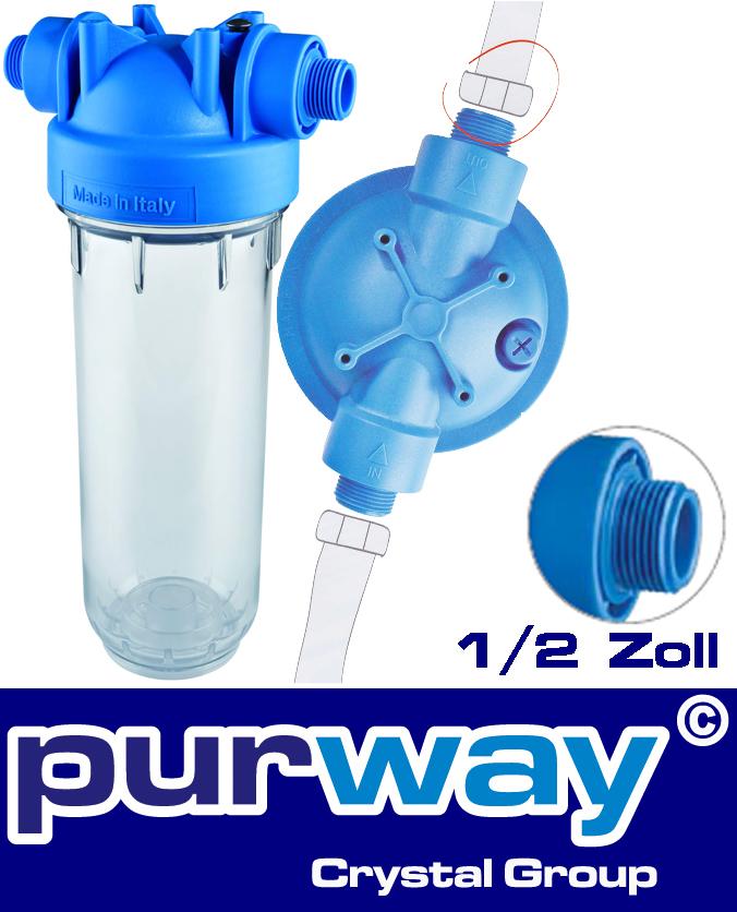 """MP-TS Untertisch Wasserfilter 1/2"""" Filtergehäuse Trinkwasserfilter Filter"""