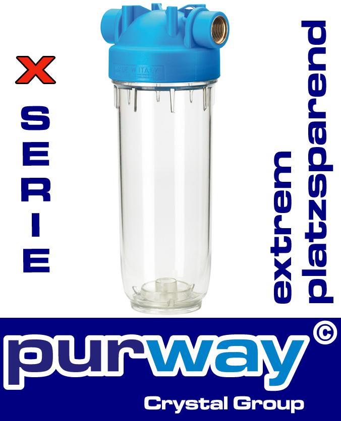 DP 10 MONO 3/4 OT TS Filtergehäuse Trinkwasserfilter Gehäuse X-SERIE