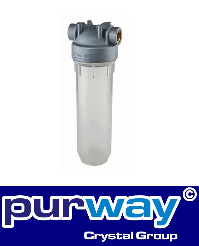 "DP 10 MONO 1"" Zoll OT Sanic Trinkwasser Filtergehäuse Antibakteriell"
