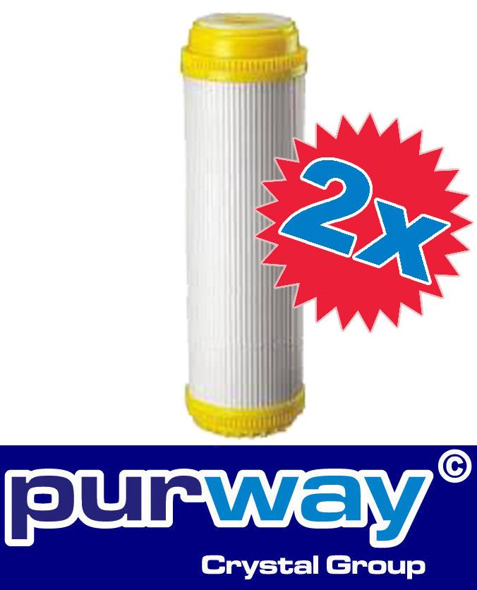 2x ANTIKALK 10 Wasserfilter Kartusche Patrone Kalkfilter Wasserenthärtung Filter