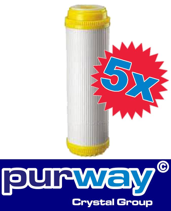 5x ANTIKALK 10 Wasserfilter Kartusche Patrone Kalkfilter Wasserenthärtung Filter