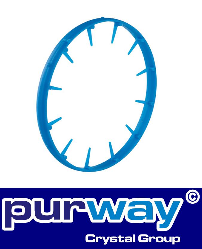 Z1 - purway Filterpatronen Zentrierring zur Filterausrichtung
