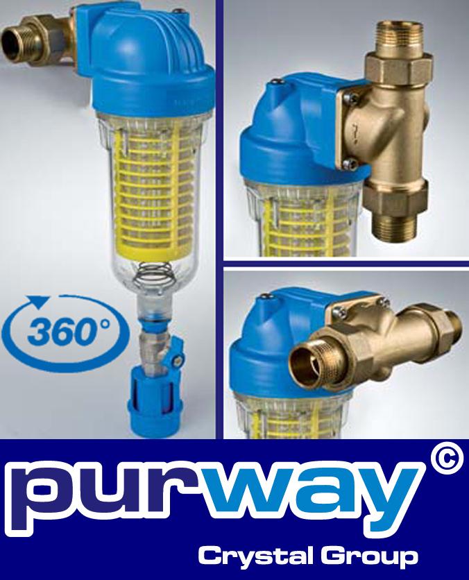 """Filtergehäuse SET 10/"""" 3//4 IG Vor Filter Wasserfilter Brunnen Wasser Pumpen"""