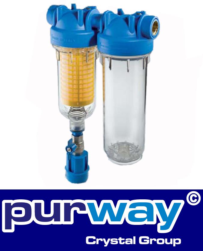 """HYDRA DUO RLH  3/4"""" Brunnenwasserfilter Hauswasserfilteranlage"""