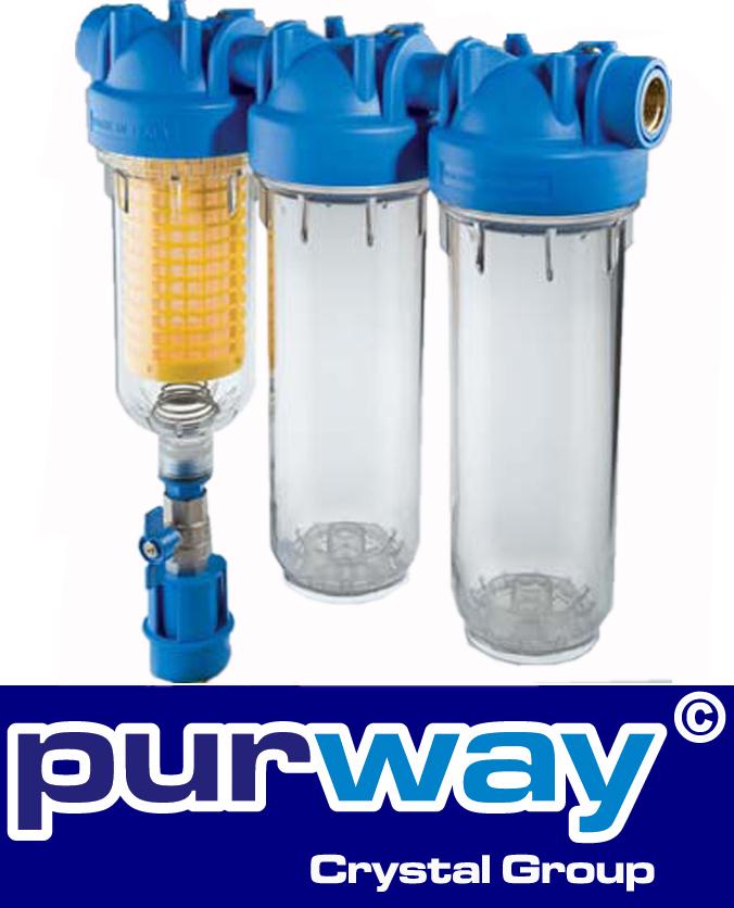 """HYDRA TRIO RLH 3/4"""" Brunnenwasserfilter Grauwasser Hauswasser Filteranlage"""