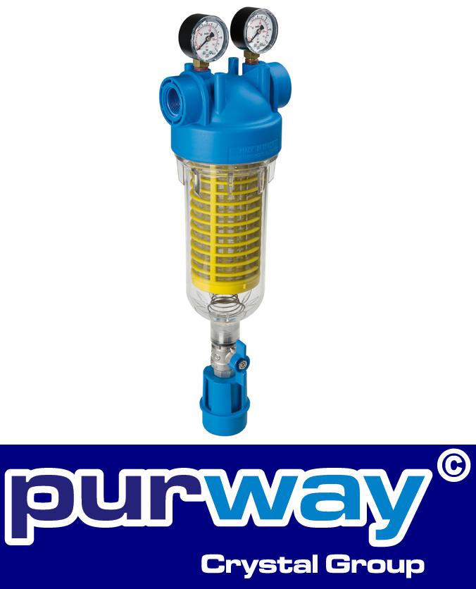 """HYDRA M 1/2"""" RAH 90 mc IN Rückspülfilter Wasserfilter Hausfilter Brunnenfilter"""