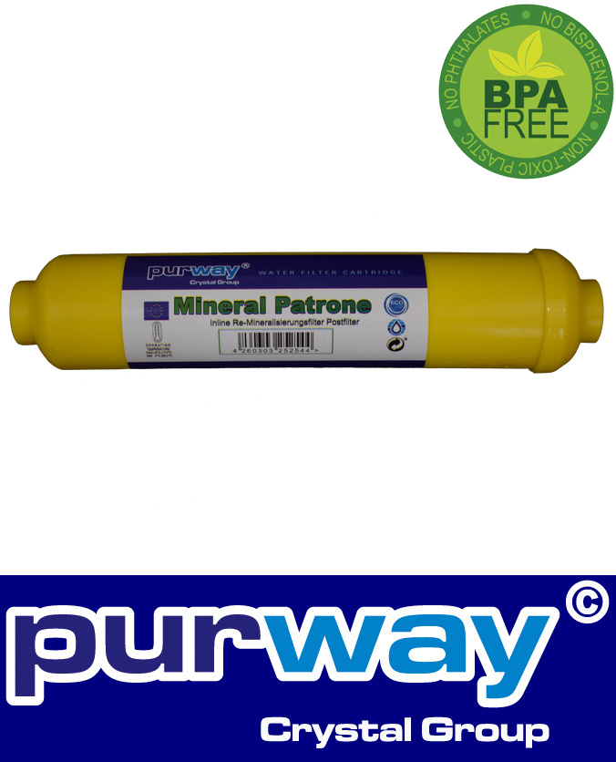 PUR re-mineralising in-line cartridge for RO QUICK 7
