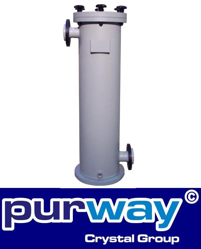 PB2 PP6 Polypropylen Beutel Filtergehäuse für Industrieanwendungen 1 x Größe 2