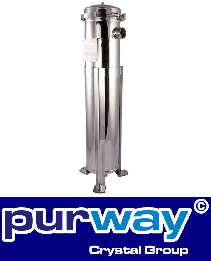 PB2 SS7 Edelstahl Beutel Filtergehäuse für Industrieanwendungen 1 x Größe 2 DN50