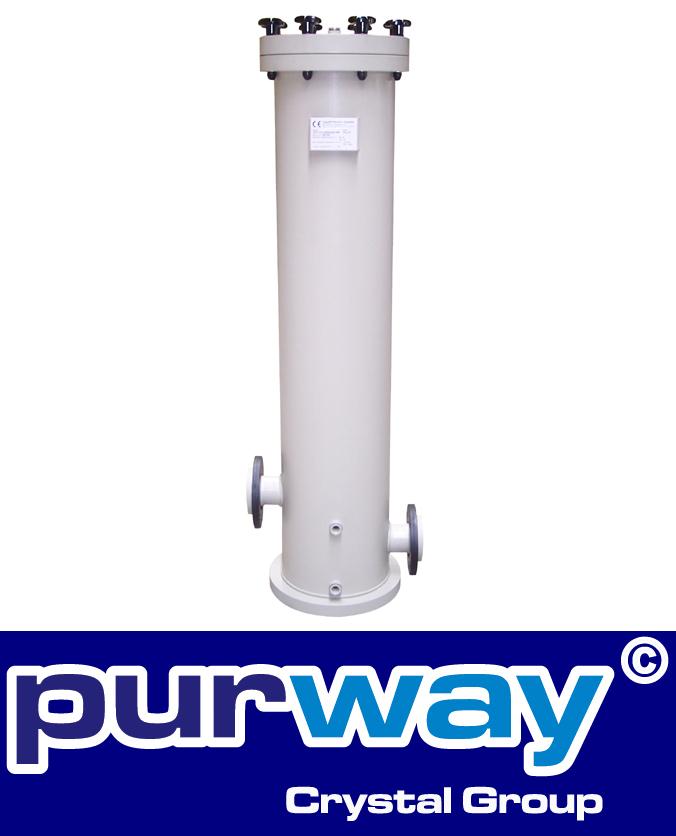 """PC 510 PP Polypropylen Mehrfach Filtergehäuse für Industrieanwendungen 5 x 10"""""""