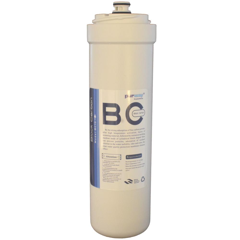 PCB QUICK 10 mcr ERSATZFILTER Carbon Block Aktivkohle Wasserfilter Chlor
