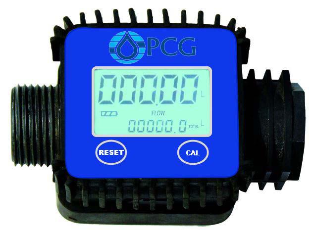 PCG1 Flow Meter Durchflussmessgerät Messung von Flüssigkeiten wie Wasser