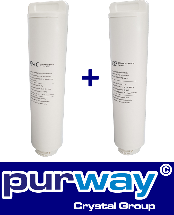 Pre-filter set PPCTO   T33 Quick-Change for PUR Booster PREMIUM Osmosis