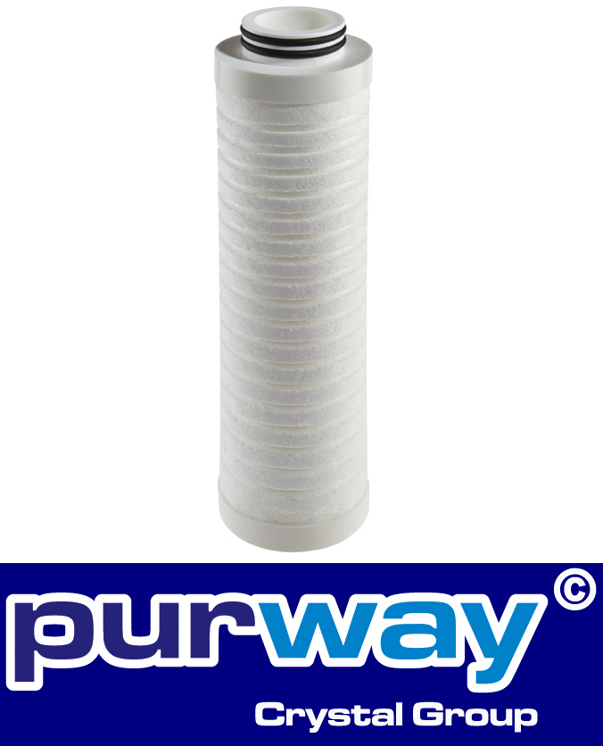 "PP 10 BX 25 mcr ""melt blown"" Polypropylene Sediment Filter Membran"