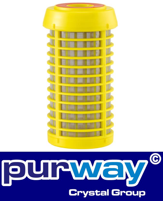 "PRAH 90mcr 7"" Brunnen-Regenwasser Vorfilter Sandfilter Edelstahl Filter"