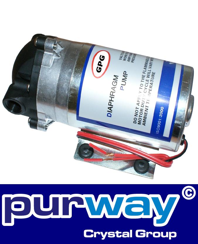 Pumpe 400 / 500 GPD für Osmoseanlagen
