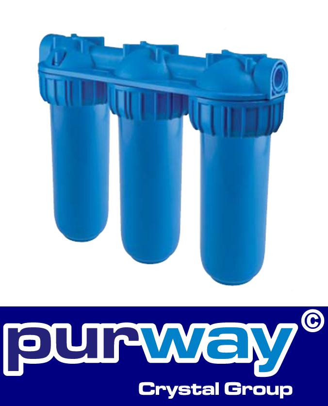 """SENIOR TRIPLEX PLUS 3P AFP BX - 3/4"""" Filtergehäuse Hauswasserfilter Wasserfilter"""