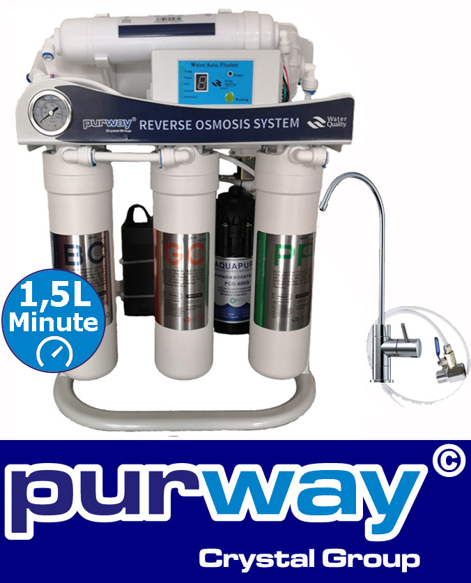 PUR Smart 600 GPD 5-stage directflow reverse osmosis system tankless 600 GPD