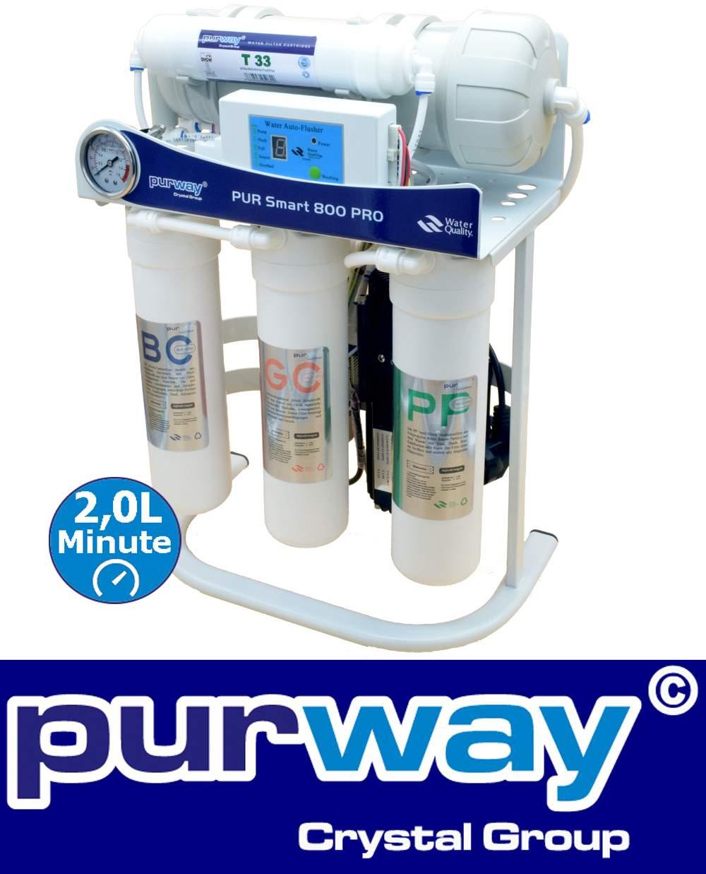 PUR Smart 800 PRO Umkehrosmoseanlage brushless bürstenlos tanklos