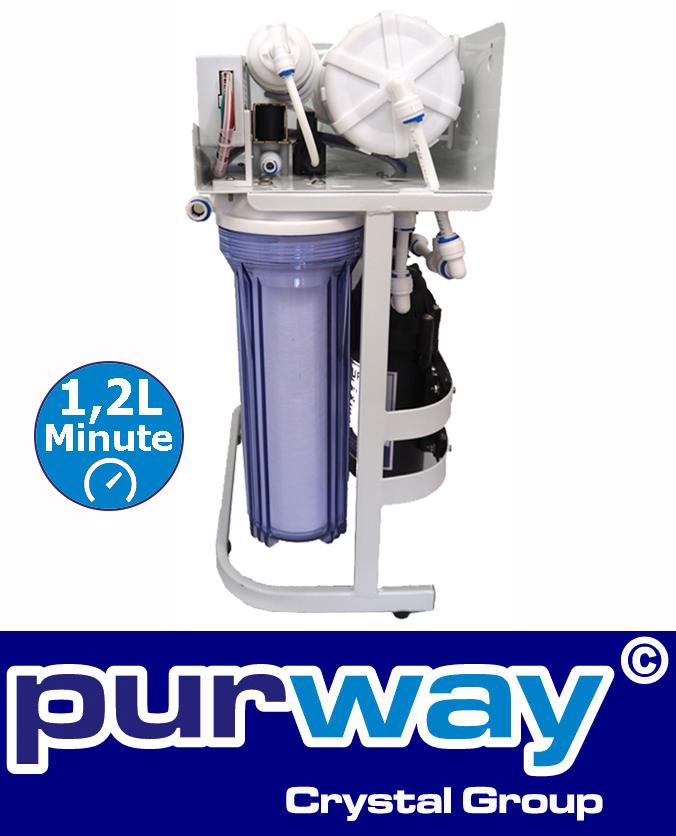 PUR Booster 5 Stufen 400 GPD Direct flow Osmoseanlage ERSATZFILTERSET