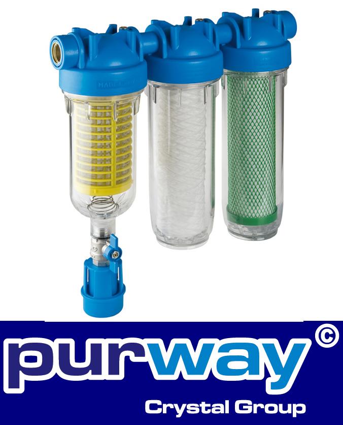 "HYDRA RAINMASTER TRIO RLH CB/EC 1"" well water filter domestic water"